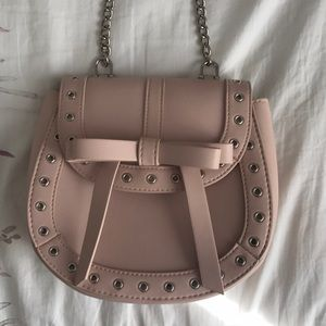 Blush Pink Cross Body Bag